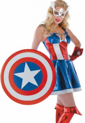 captain americas daughter