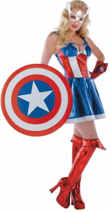 captain americas daughter