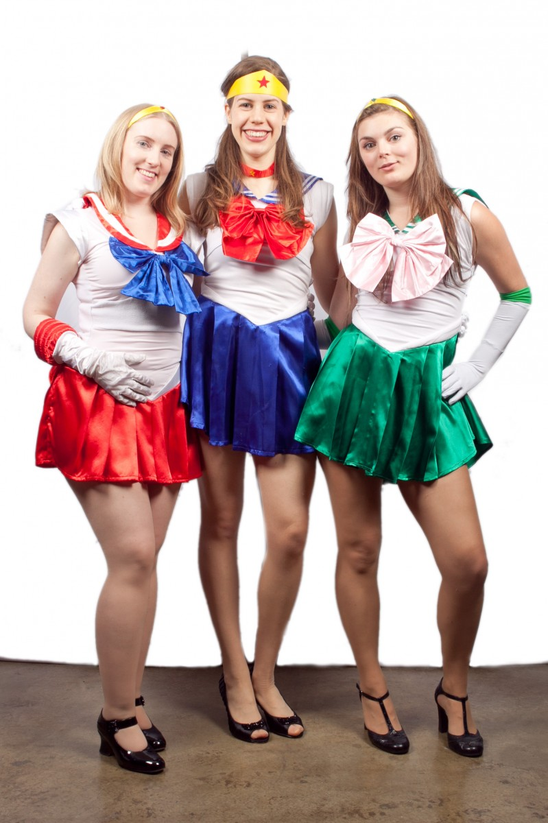 Sailor Moon Group Costume Related Costumes Sailor Group