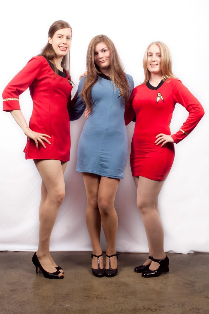 Star trek girls  sc 1 st  Creative Costumes & Star Trek female uniforms -Creative Costumes