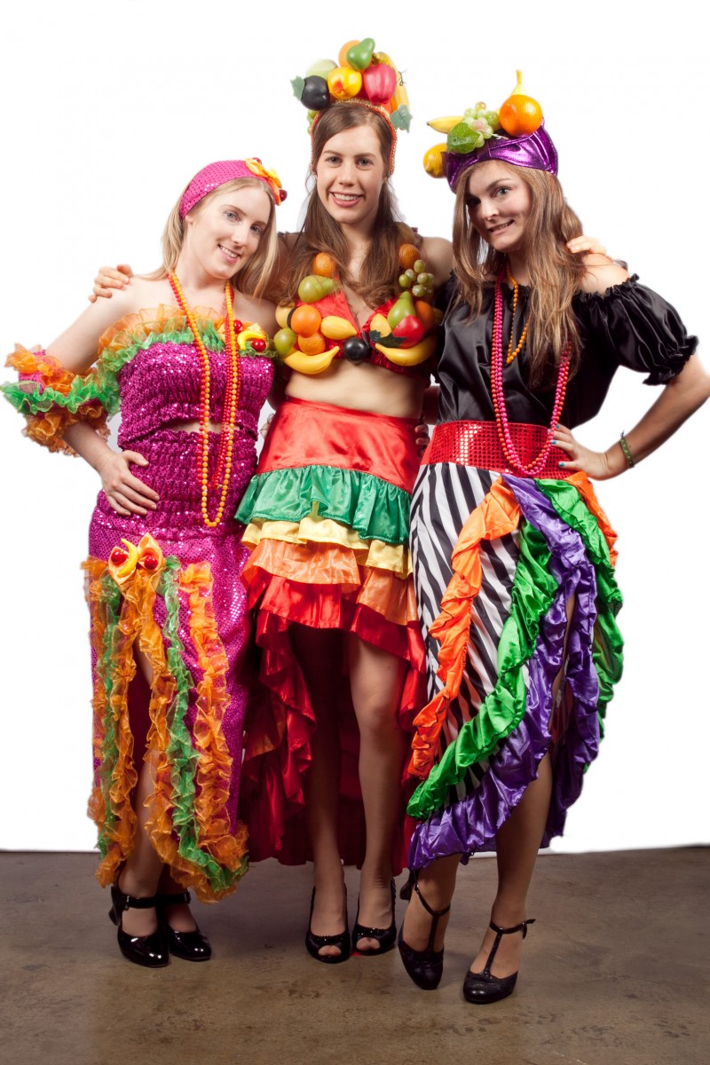 Mexican or Rio Carnivale Girls -Creative Costumes
