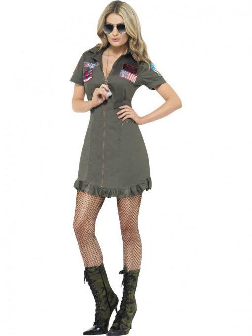 Top gun girls costume