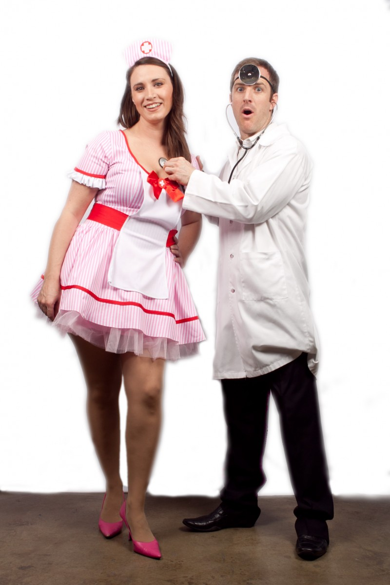 Doctor couple  sc 1 st  Creative Costumes & Doctor and Nurse -Creative Costumes