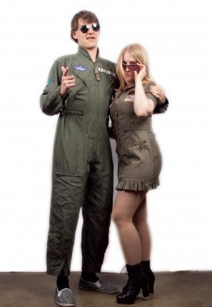 Top Gun couple