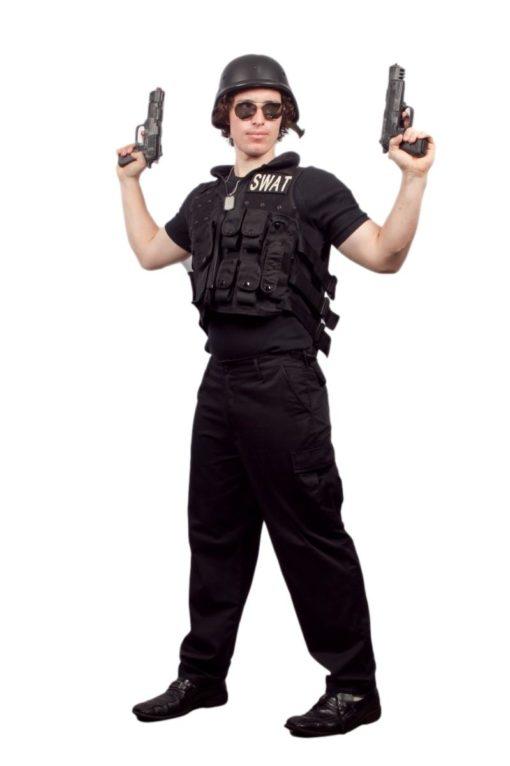 Swat guy costume