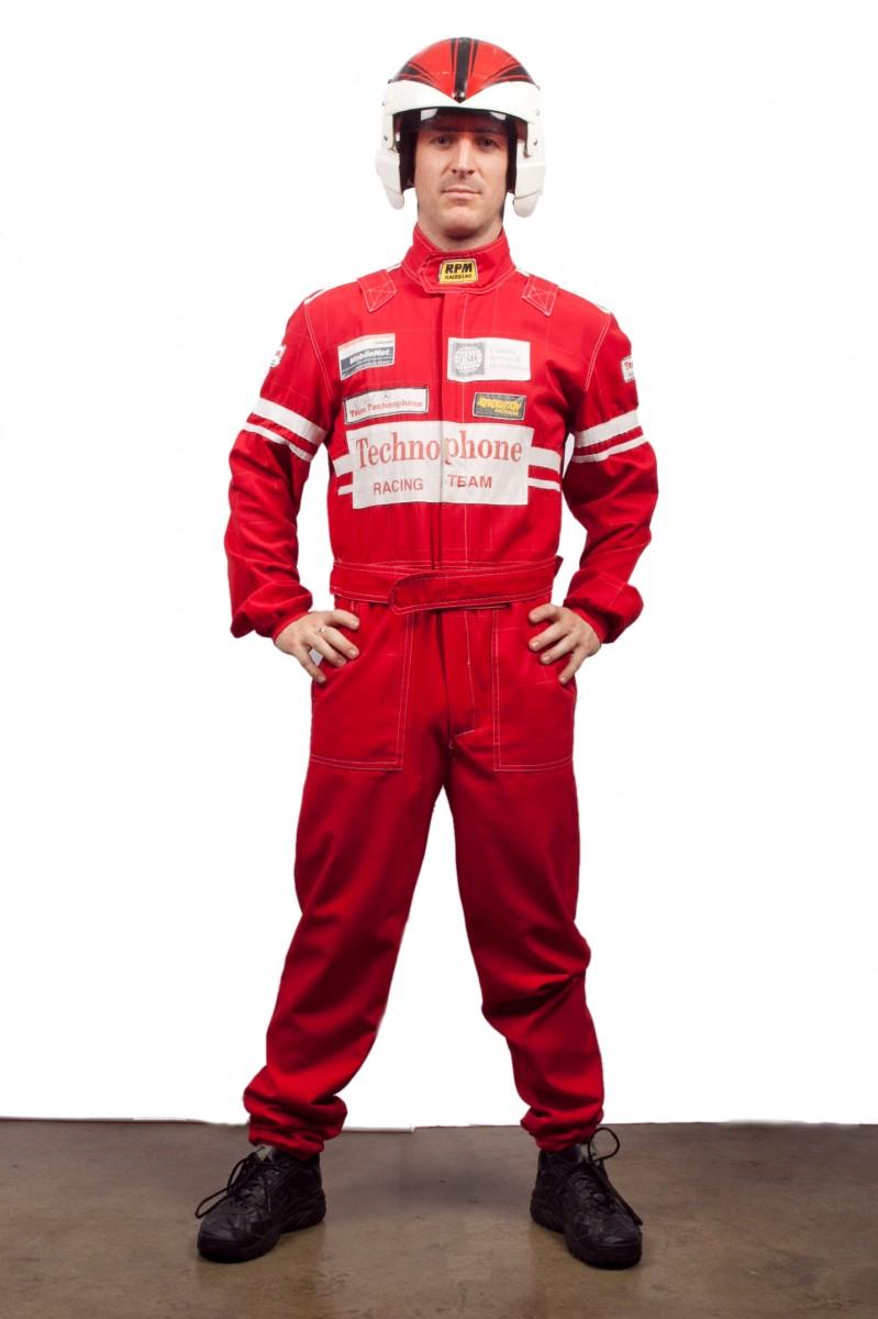 Ferrari Race Car Driver Uniform
