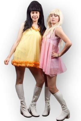Austin Powers Girls  sc 1 st  Creative Costumes & Austin Powers Girls -Creative Costumes