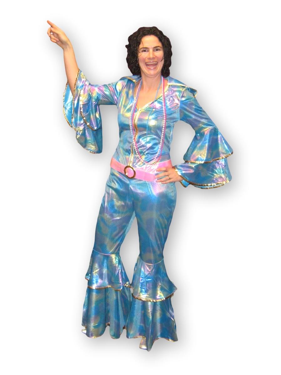 Female Disco Jumpsuit -Creative Costumes