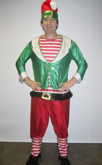 Ekf Santa's Helper Christmas elf pixie
