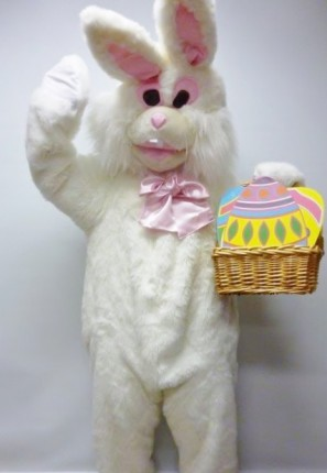 Easter Bunny White