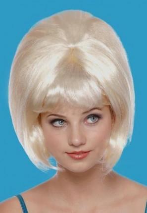 blonde beehive