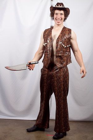 Dress Hire on Crocodile Dundee   Creative Costumes     Costume Hire Melbourne