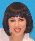 Chin bob deluxe wig