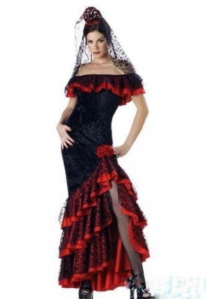 Spanish Senorita Creative Costumes
