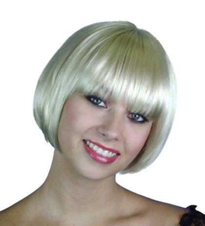 Deluxe blonde bob wig
