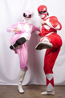 Power rangers couple