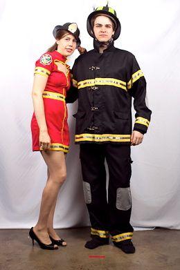 fireman couple