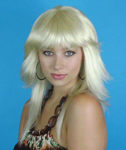 Blonde Retro 80s Wig