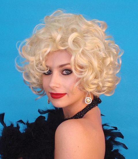 Curly blonde wig -Creative Costumes dae8690ec042