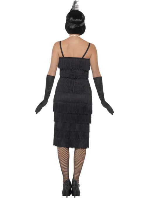 1920s black flapper costumes