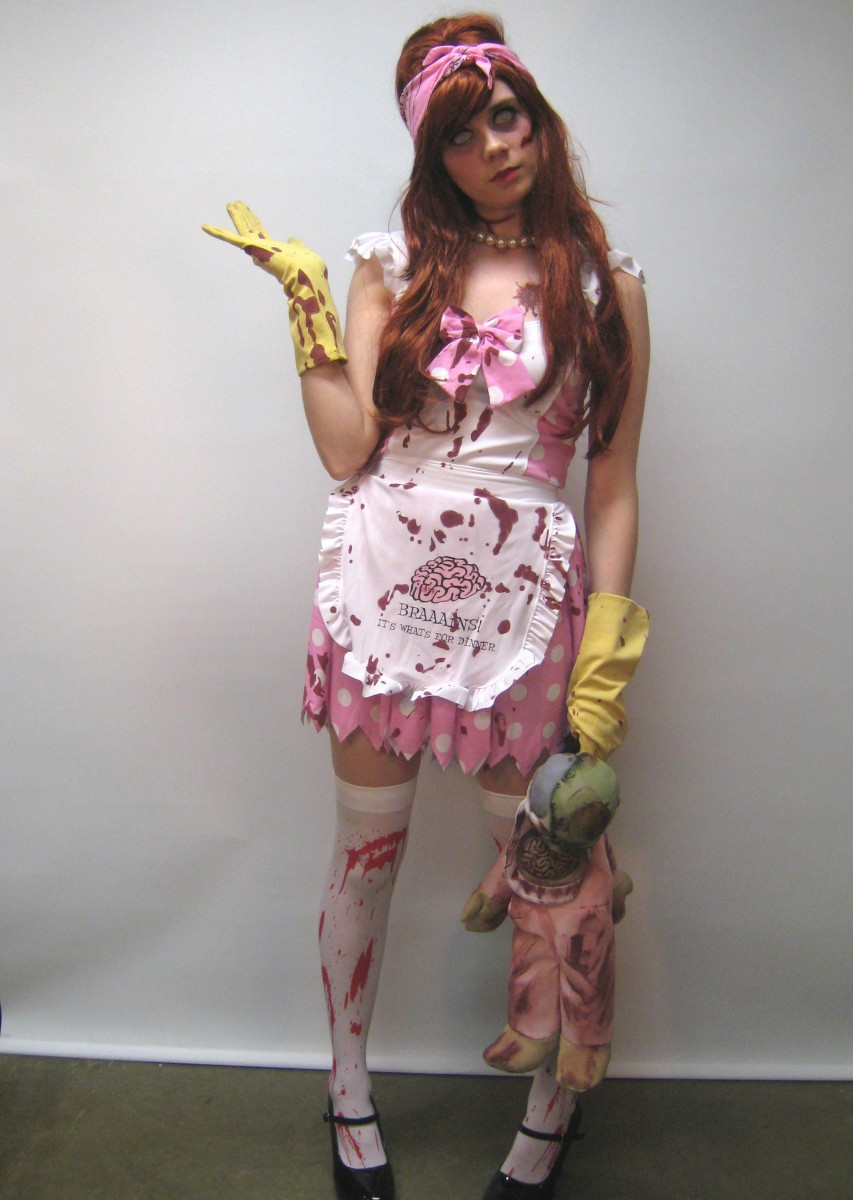 Zombie House Wife Costume Creative Costumes