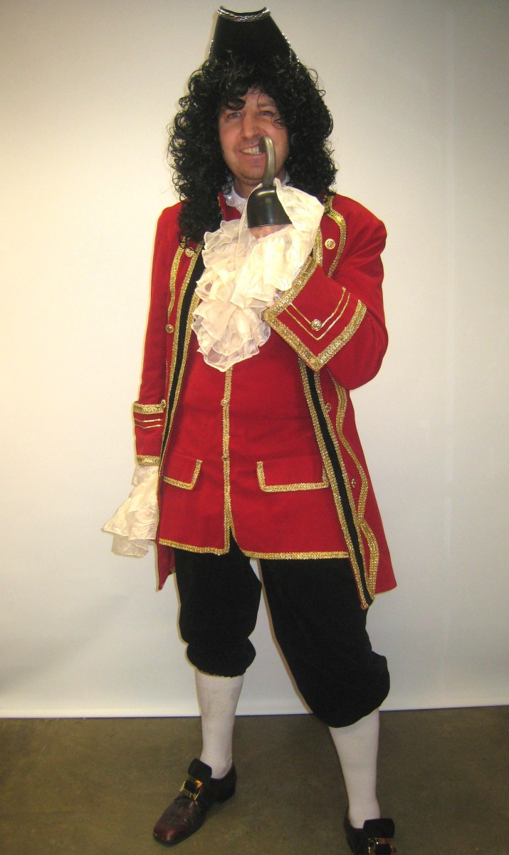 Captain Hook Costume Creative Costumes