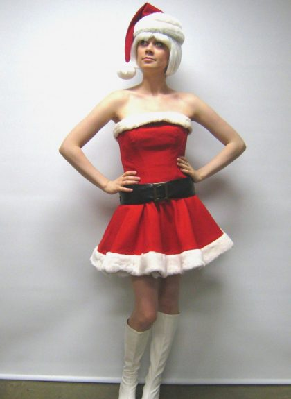 Mrs christmas costume
