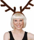 plush reindeer antler