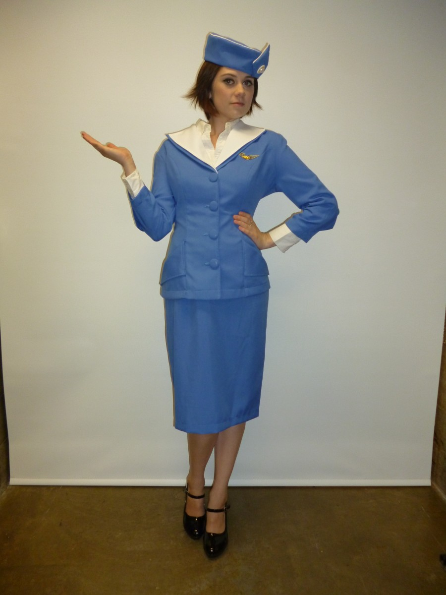 Pan Am Flight Attendant Creative Costumes