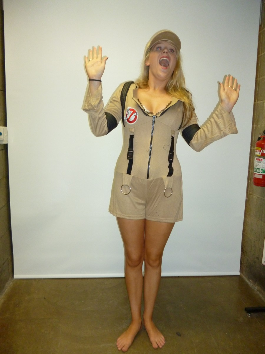 Ghost busters girl & Ghost Buster Costume -Creative Costumes