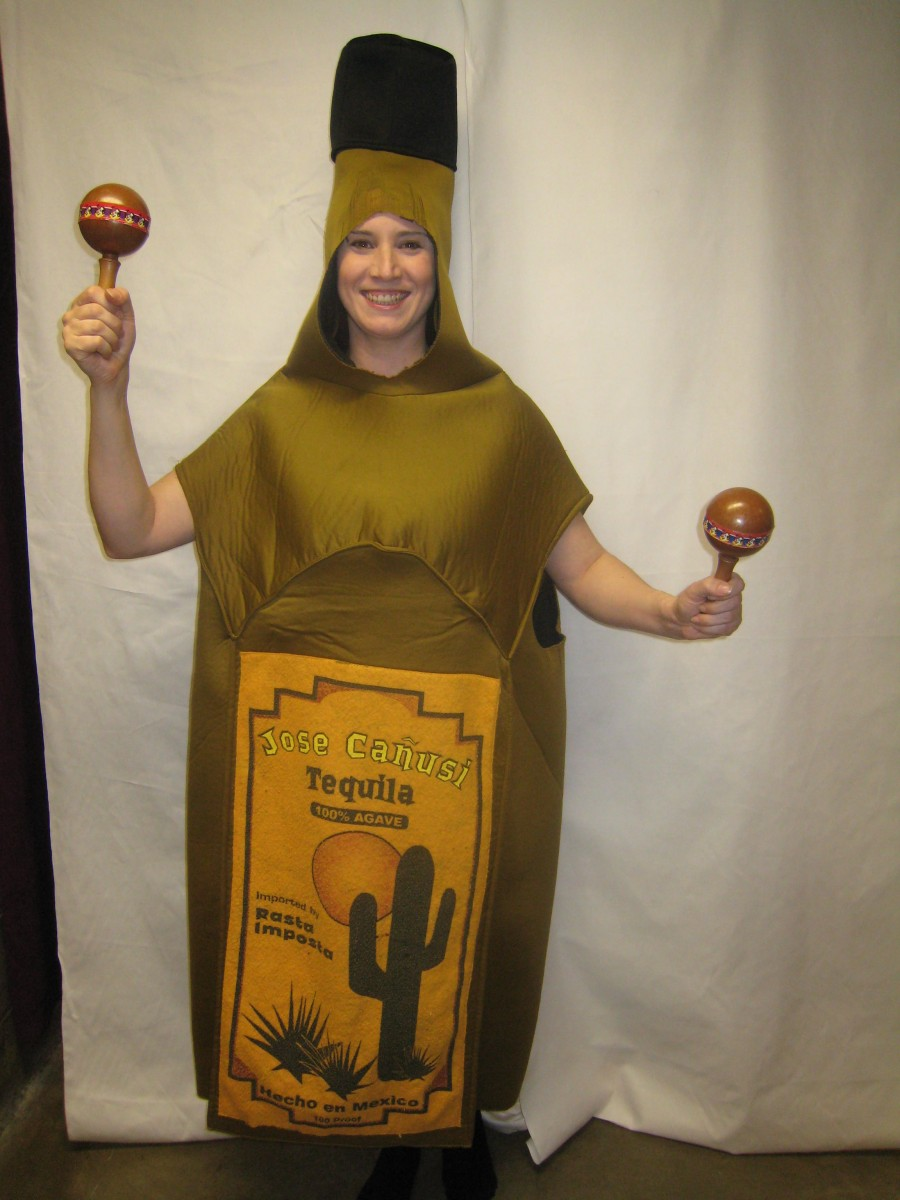 Tequila Bottle Costume Creative Costumes