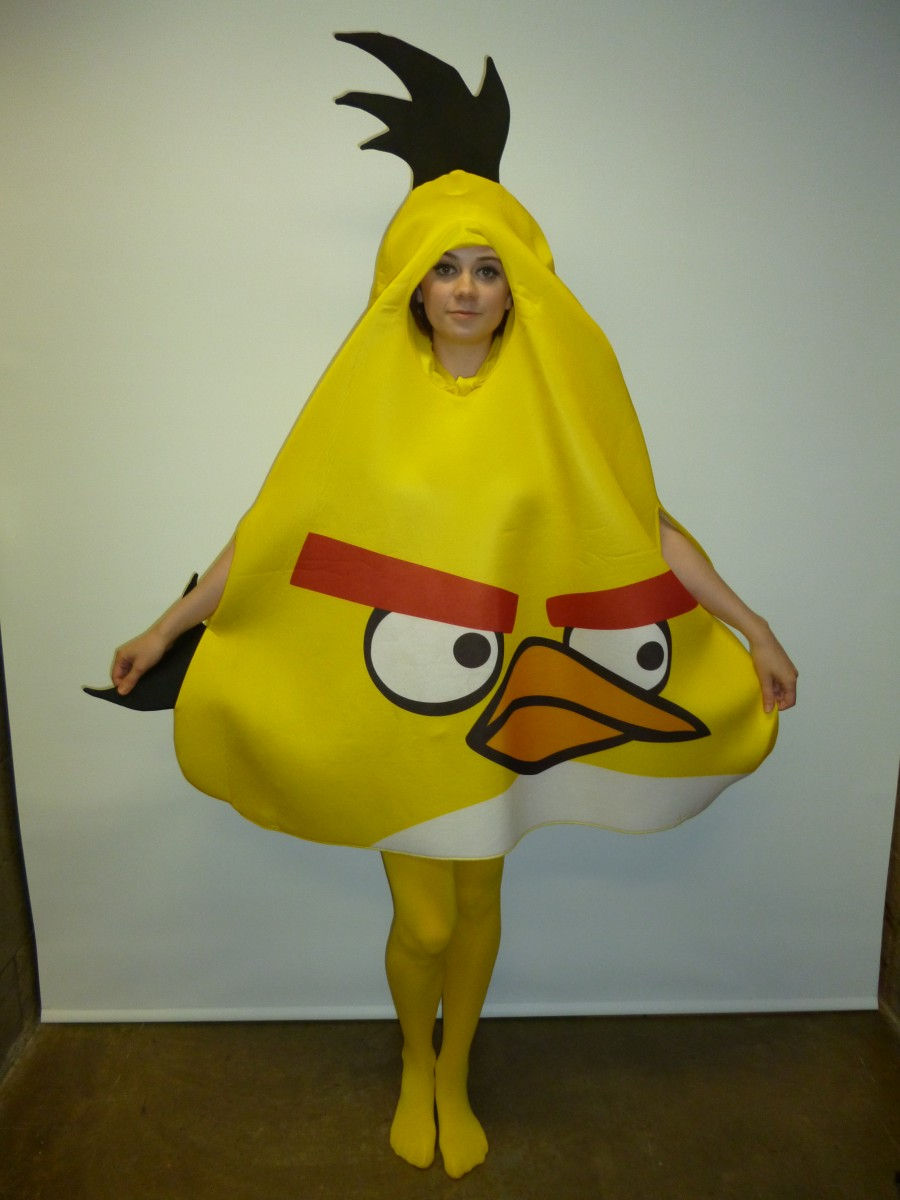 Angry birds tween red bird costume
