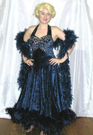 Ritz glamour costume