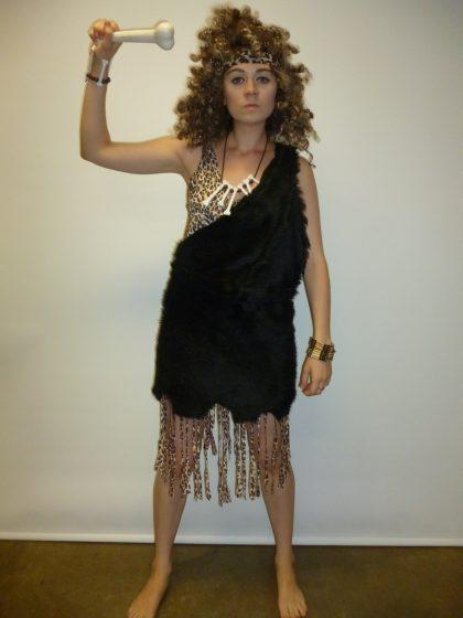 prehistoric Neanderthal woman costume