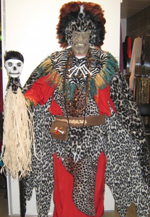 Jungle voodoo man