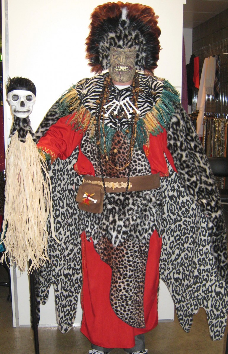 Witch Doctor Costume -Creative Costumes