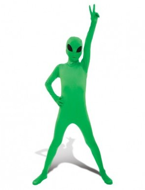 Kids Alien Morphsuit