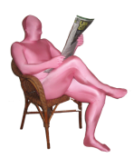 Pink Morphsuit