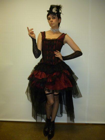 Victoriana steampunk lady costume