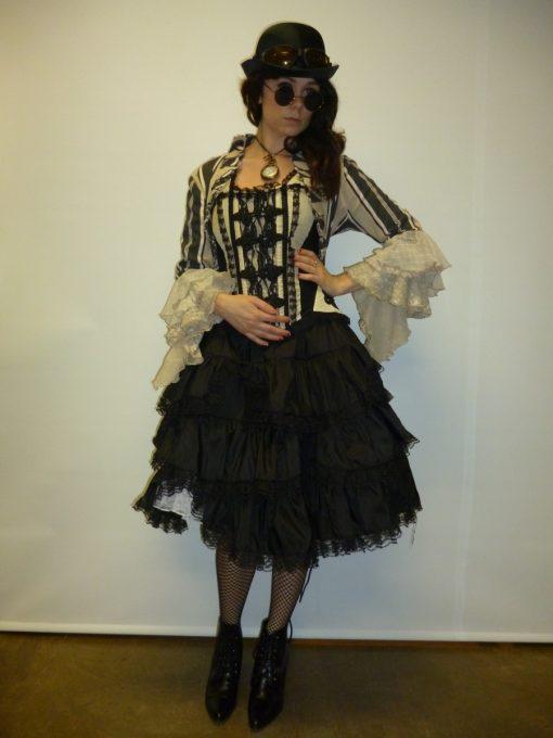 Modern Victorian wild west lady