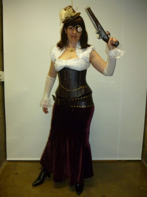 Industrial victorian pirate lady