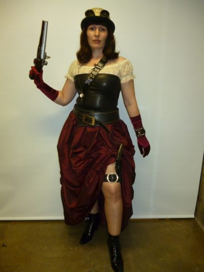 Victorian industrial womens costume