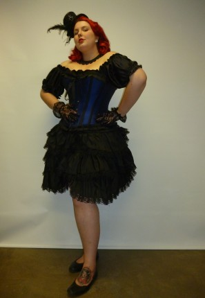 moulin rouge can can burlesque costume