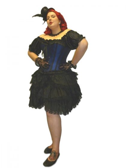 Mouline Rouge Burlesque costume