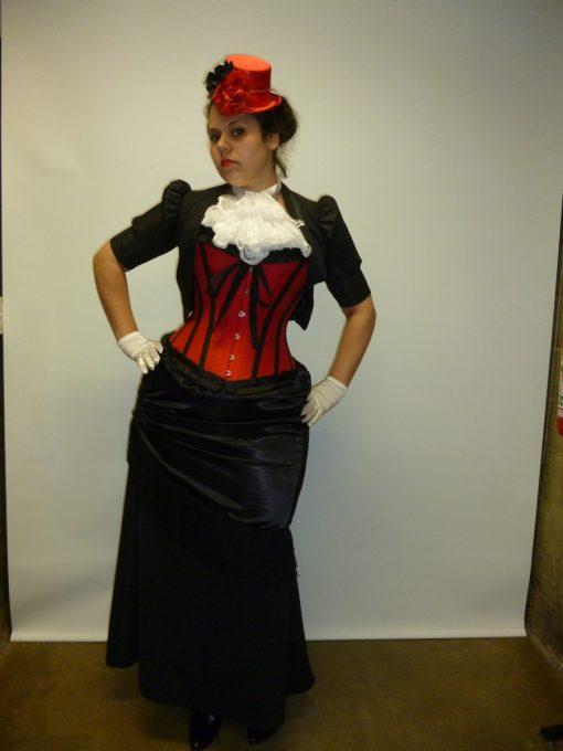 Victorian womens steampunk 1800s titanic costume