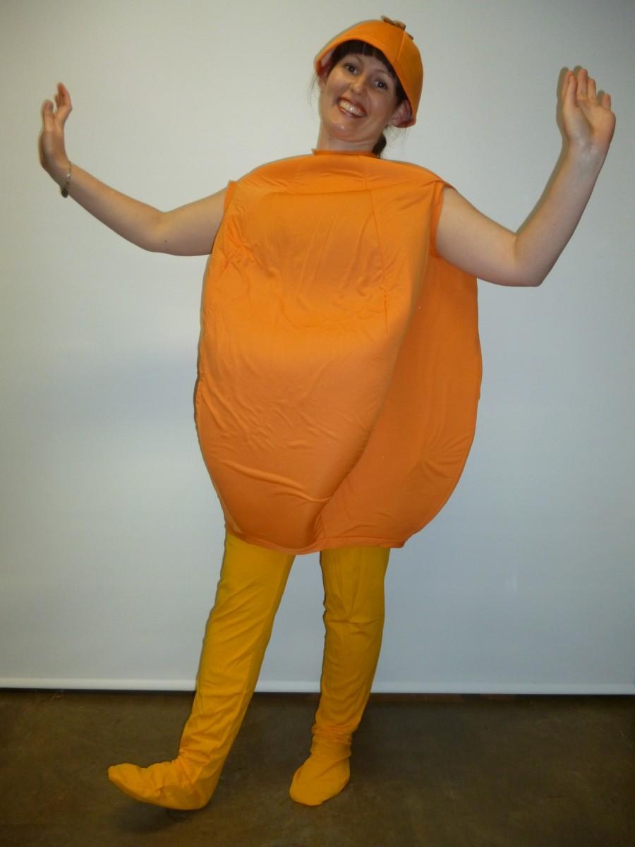 orange costume creative costumes