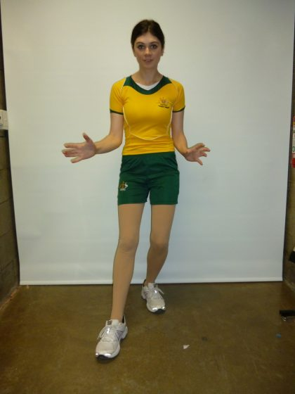 Sport aussie olympic uniform