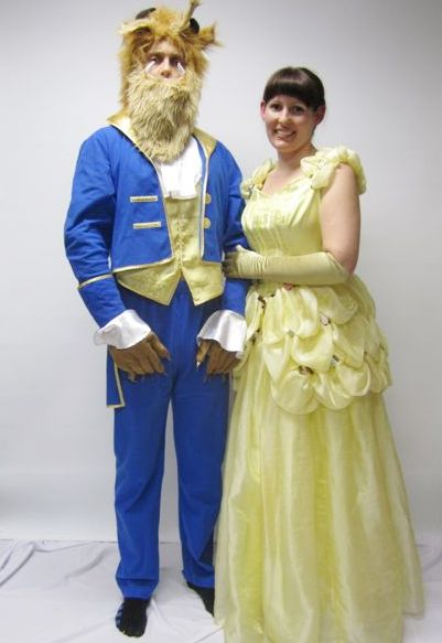 beauty and beast  sc 1 st  Creative Costumes & Beauty and the beast Couples Costume -Creative Costumes