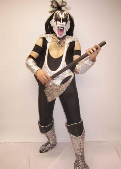 Kiss band member rockstar
