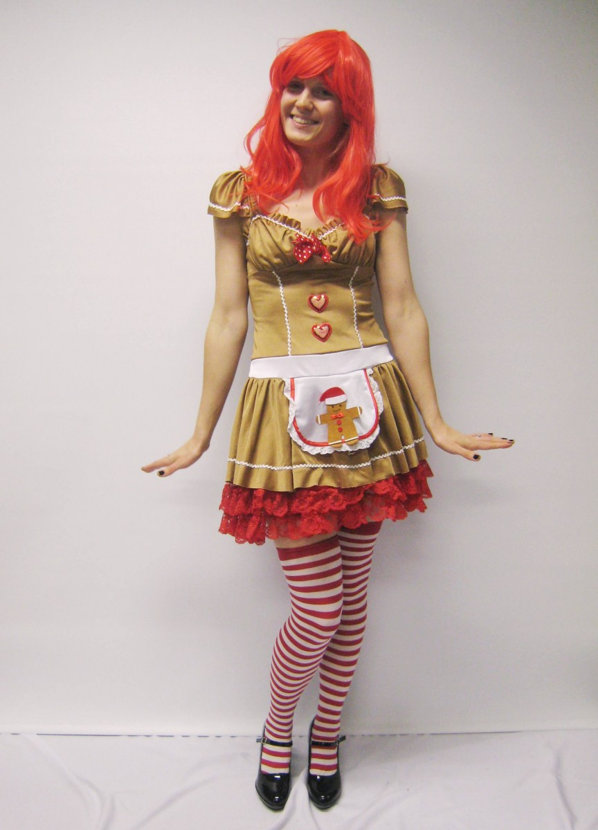 Christmas cookie elf costume  sc 1 st  Creative Costumes & Gingerbread Girl Costume -Creative Costumes